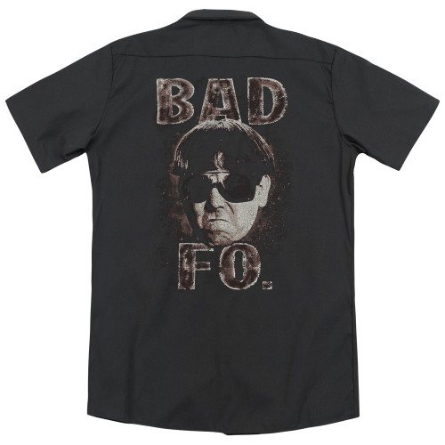 Image for Three Stooges Work Shirt - Bad Moe Fo