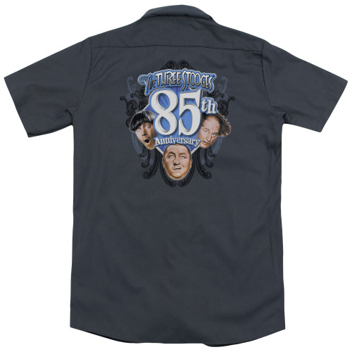 Image for Three Stooges Dickies Work Shirt - 85Th Anniversary 2