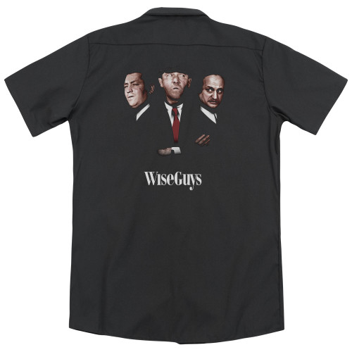 Image for Three Stooges Dickies Work Shirt - Wiseguys