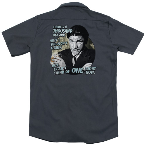 Image for Three Stooges Dickies Work Shirt - Drink