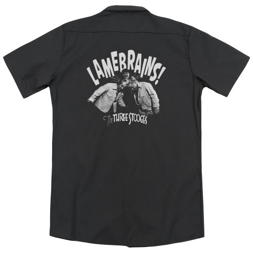 Image for Three Stooges Dickies Work Shirt - Lamebrains