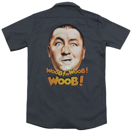 Image for Three Stooges Work Shirt - Woob Woob Woob
