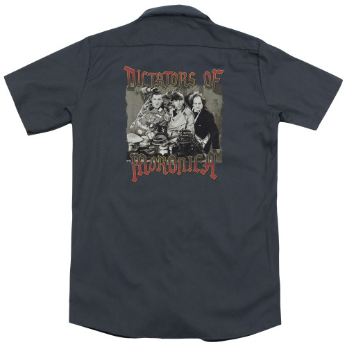 Image for Three Stooges Dickies Work Shirt - Moronica