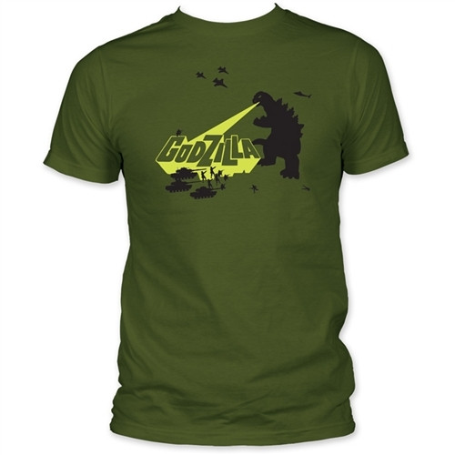 Image for Godzilla T-Shirt - Army Men
