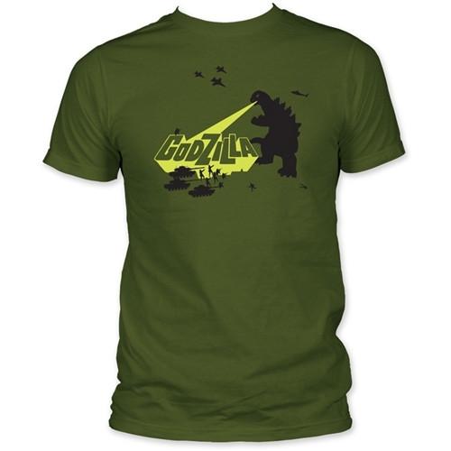 Image for Godzilla T-Shirt - Army Men