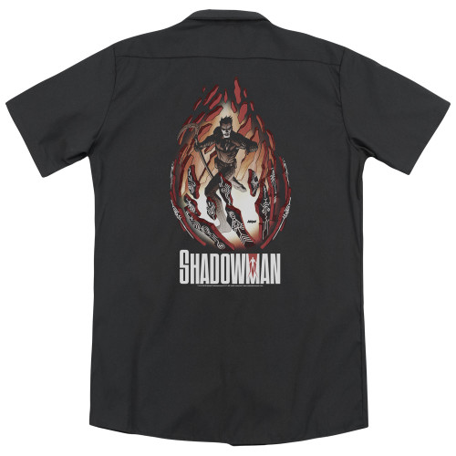 Image for Shadowman Dickies Work Shirt - Burst
