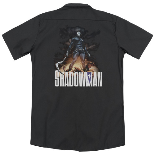 Image for Shadowman Dickies Work Shirt - Shadow Victory