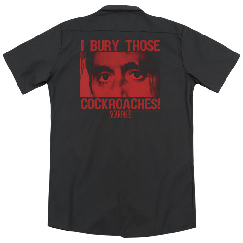 Image for Scarface Dickies Work Shirt - Cockroaches