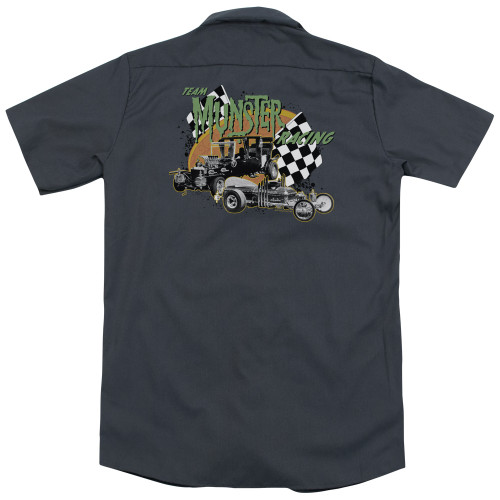 Image for The Munsters Dickies Work Shirt - Munster Racing