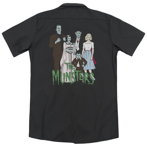 Image for The Munsters Work Shirt - The Family