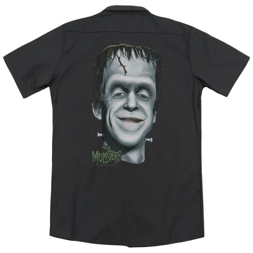 Image for The Munsters Work Shirt - Herman'S Head