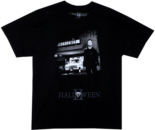 Image Closeup for Halloween Emergency T-Shirt