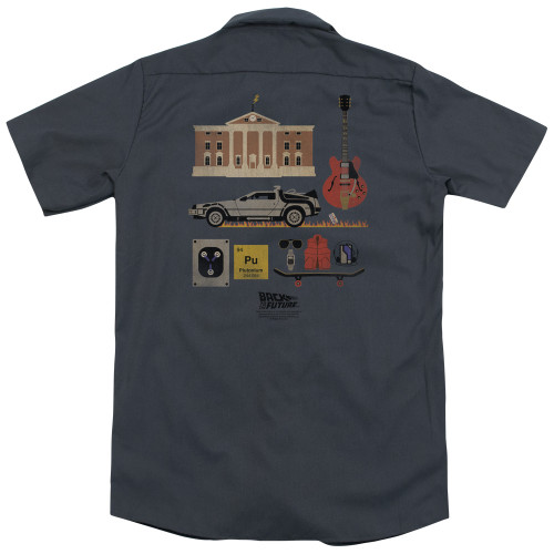 Image for Back To The Future Dickies Work Shirt - Items