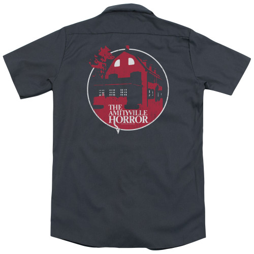 Image for Amityville Horror Dickies Work Shirt - Red House
