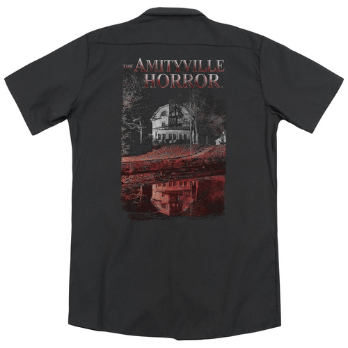 Image for Amityville Horror Dickies Work Shirt - Cold Blood