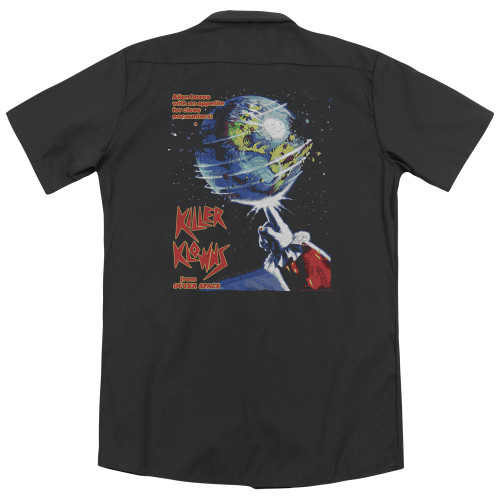 Image for Killer Klowns From Outer Space Dickies Work Shirt - Invaders