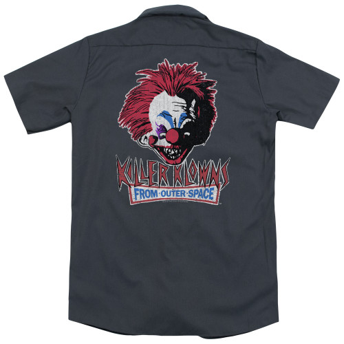 Image for Killer Klowns From Outer Space Dickies Work Shirt - Rough Clown