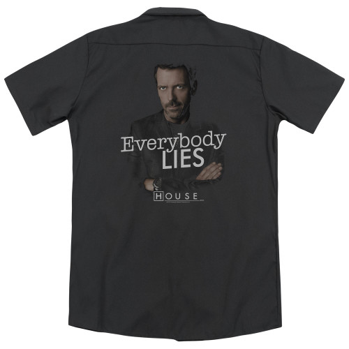 Image for House Dickies Work Shirt - Everybody Lies
