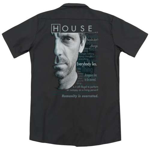 Image for House Dickies Work Shirt - Houseisms