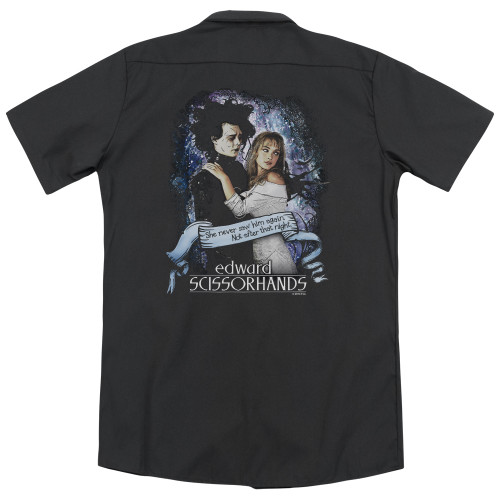 Image for Edward Scissorhands Dickies Work Shirt - That Night