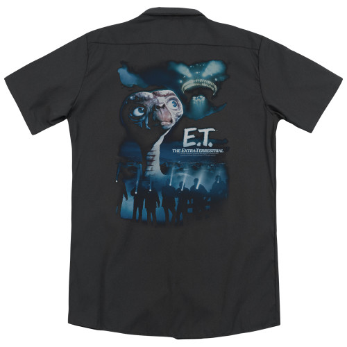 Image for Et The Extraterrestrial Dickies Work Shirt - Going Home