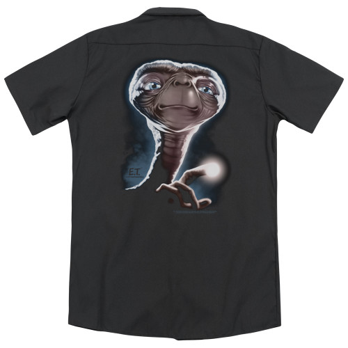Image for Et The Extraterrestrial Dickies Work Shirt - Portrait