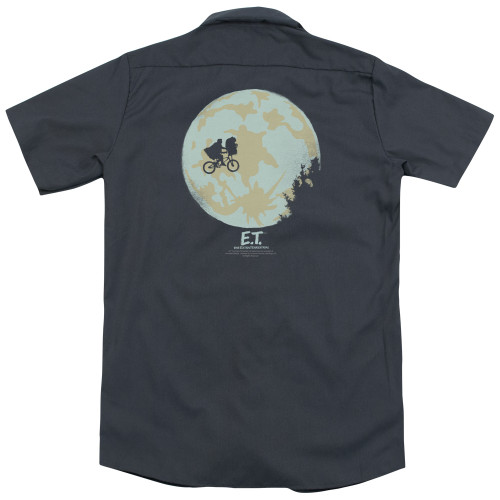 Image for Et The Extraterrestrial Dickies Work Shirt - In The Moon