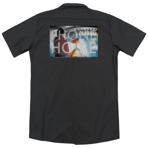 Image for Et The Extraterrestrial Dickies Work Shirt - Knockout