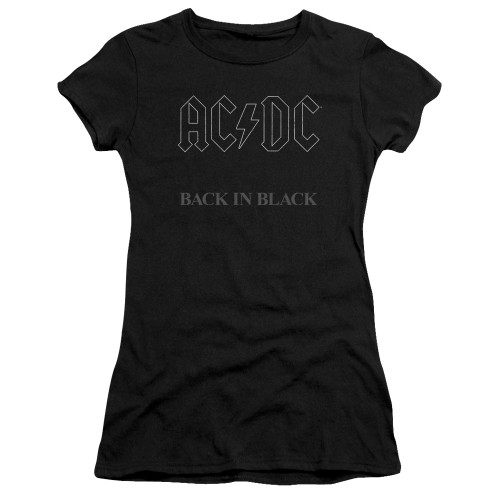 Image for AC/DC Girls T-Shirt - Back in Black