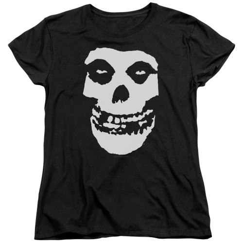 Image for The Misfits Womans T-Shirt - Fiend Skull