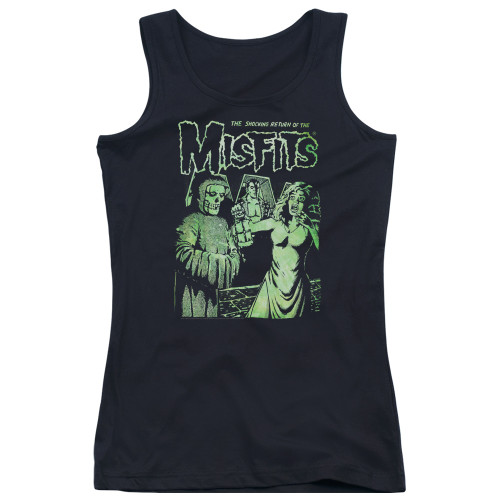 Image for The Misfits Girls Tank Top - The Shocking Return