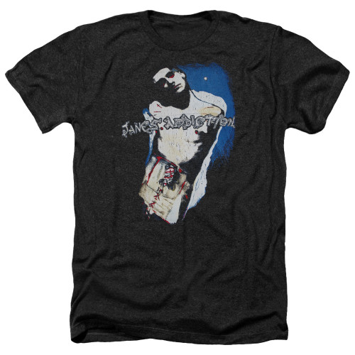 Image for Jane's Addiction Heather T-Shirt - Perry