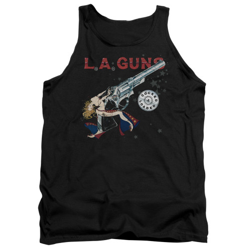Image for LA Guns Tank Top - Cocked and Loaded