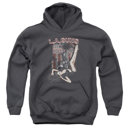 Image for LA Guns Youth Hoodie - From Hollywood