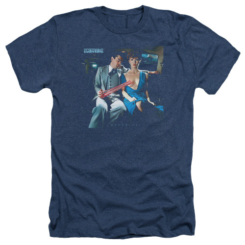 Image for Scorpions Heather T-Shirt - Love Drive