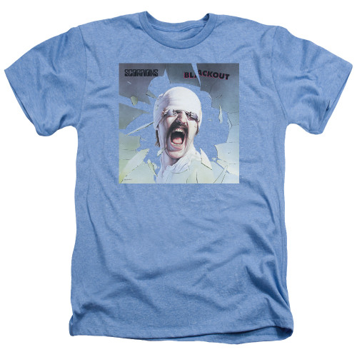 Image for Scorpions Heather T-Shirt - Light blueout