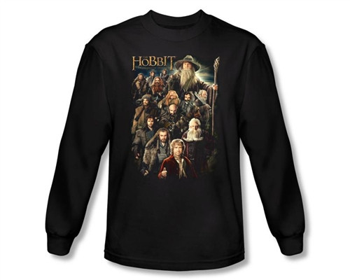 Image Closeup for The Hobbit Somber Company long sleeve T-Shirt
