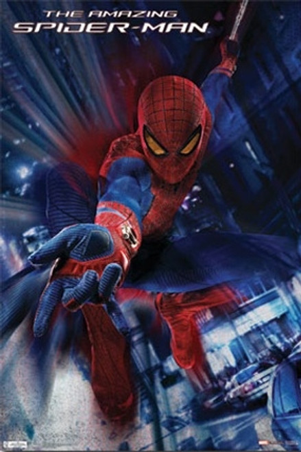 The Amazing Spiderman Poster - Swing
