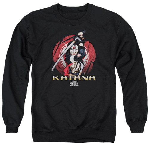 Image for Suicide Squad Crewneck - Katana Flower