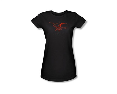 Image Closeup for The Hobbit Girls T-Shirt - Smaug