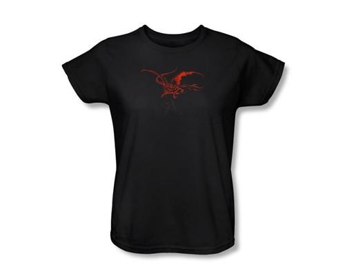 Image Closeup for The Hobbit Womens T-Shirt - Smaug