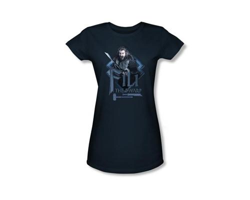 Image Closeup for The Hobbit Girls T-Shirt - Fili the Dwarf
