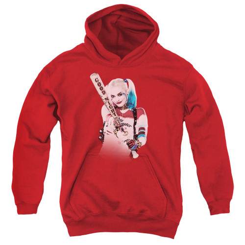 Image for Suicide Squad Youth Hoodie - Take Aim Harley
