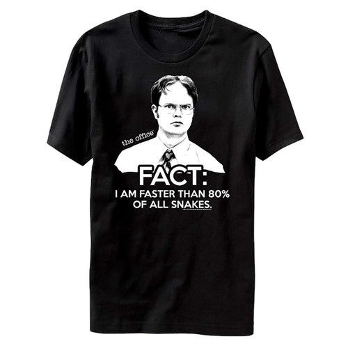 Image for The Office Faster Than 80% of All Snakes T-Shirt