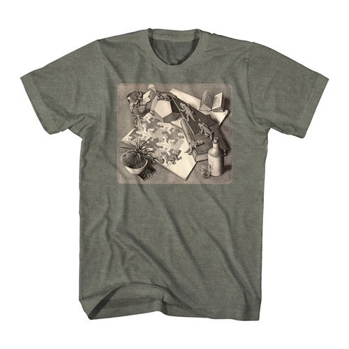 Image for MC Escher Reptiles T-Shirt