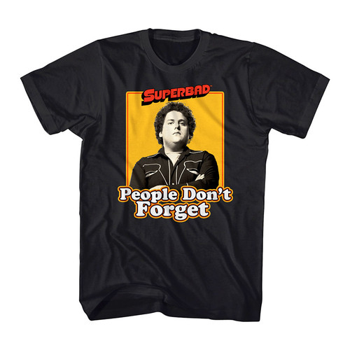 Image for Superbad Never Forget T-Shirt