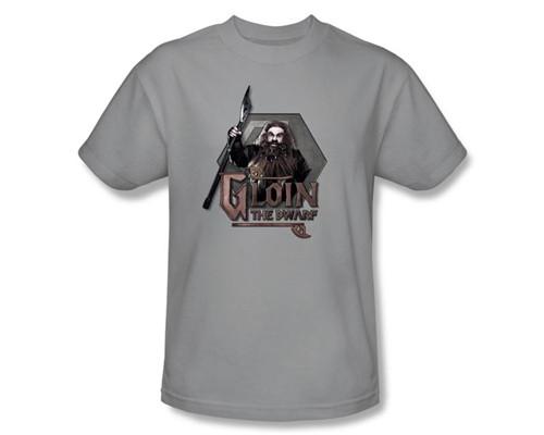 Image Closeup for The Hobbit Gloin the Dwarf T-Shirt