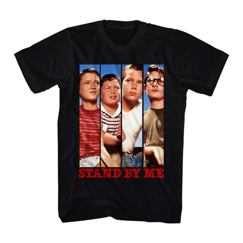 Image for Stand By Me Cast Panels T-Shirt