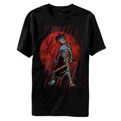 Image for Samurai Jack Red Moon T-Shirt