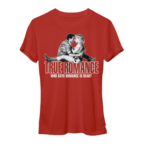 Image for True Romance Romance is Dead Juniors T-Shirt